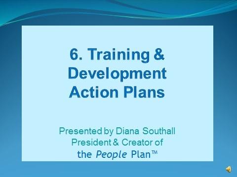 Resources – Video – Training & Development Action Plans